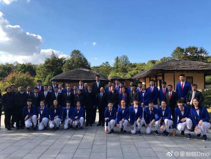 中国男篮结束朝鲜之旅 董瀚麟:平壤之行很受益