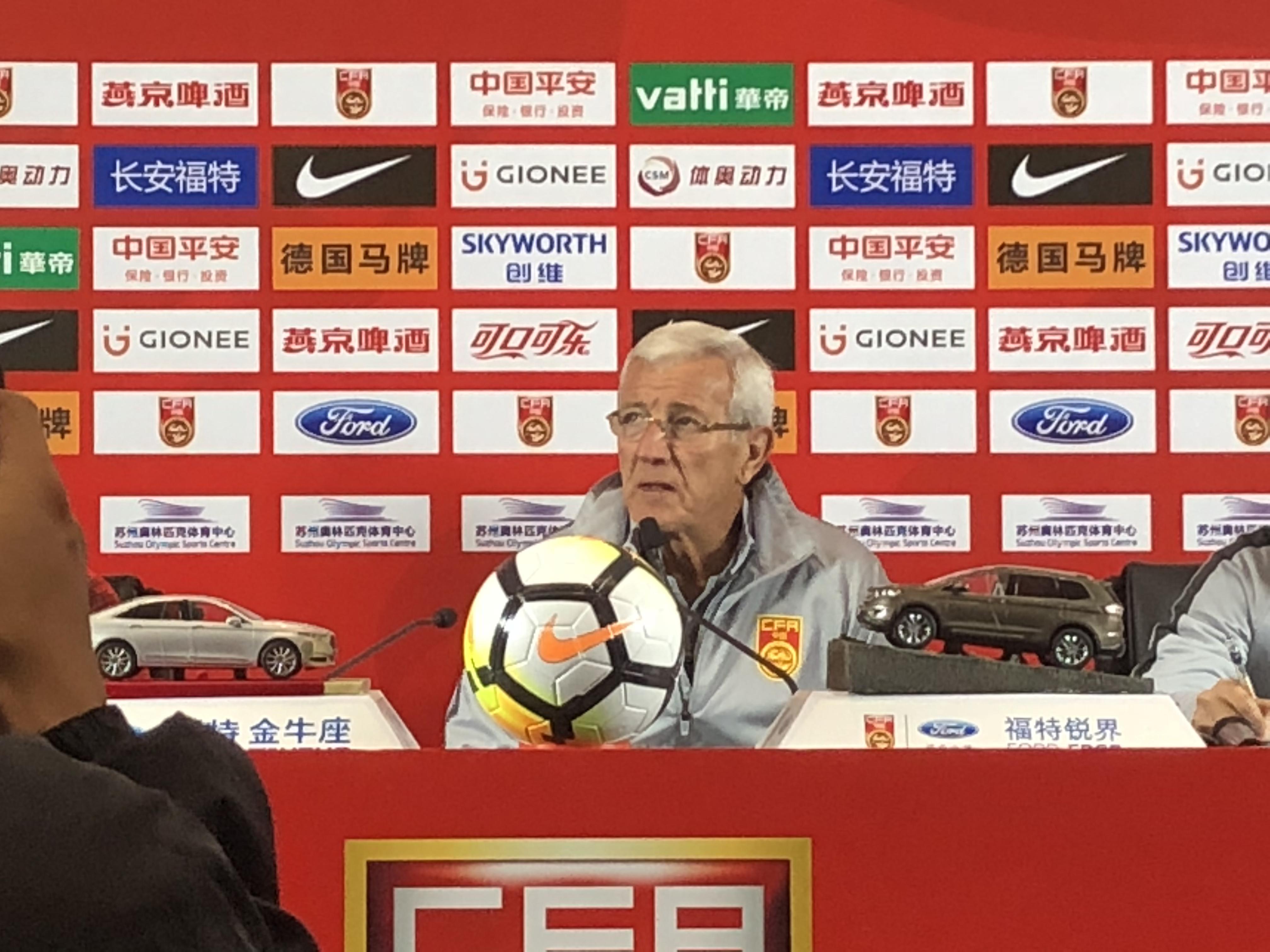 里皮:郑智明天不会登场 平衡U25集训队?以后再说吧