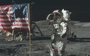 美国宇航员探索太空照片