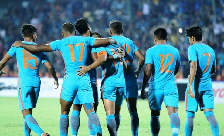 印度足协:期待球队能获得与中国交手的历史首胜