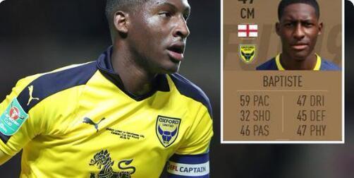 球员FIFA19评分47创最低,遭队友嘲笑