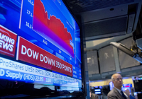 美股周四再次下挫:亚马逊跌2%  京东阿里上涨