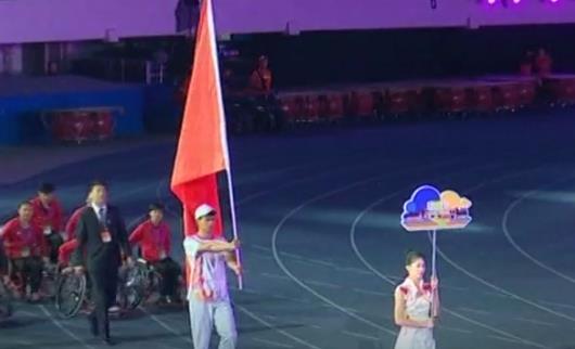 唐山42岁运动员在省第九届残运会上摘金
