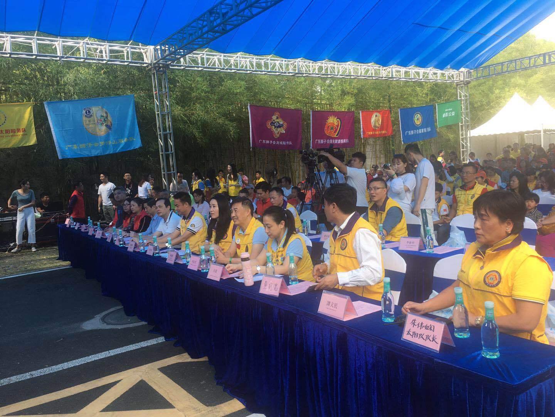 惠州房产网-狮友助力绿水青山,环保接力行在惠州开展
