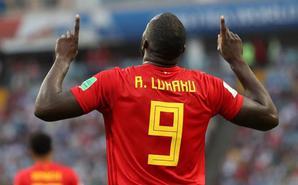 欧国联-卢卡库梅开二度 比利时2-1
