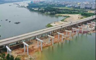 最新进展!龙桥东江大桥左幅路段预计明年底通车