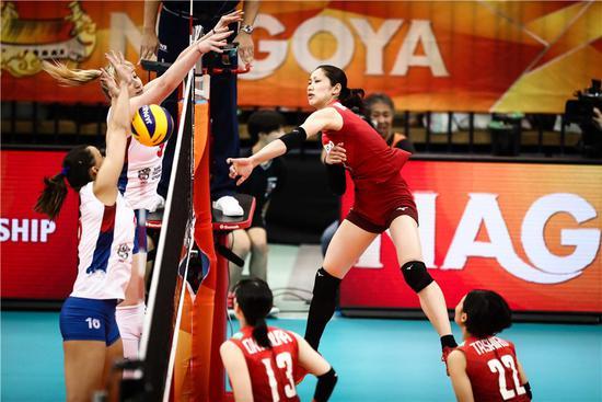 女排世锦赛日本0-3塞尔维亚中国轮空观美荷决斗