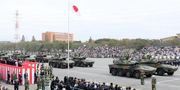 日本自卫队盛大阅兵式全装备展示