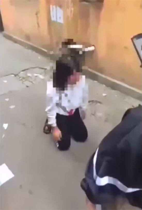 山东微山通报13岁女生遭辱骂殴打事件:已批评教育