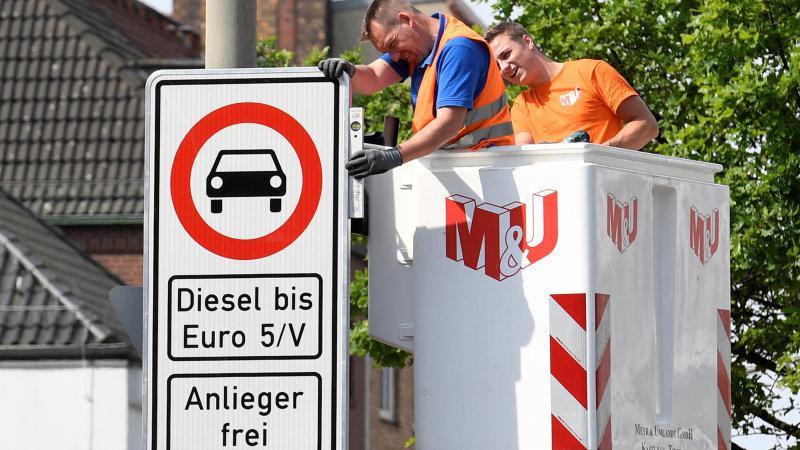 欧柴油车上半年销量下滑严重  市场份额降至36.5%