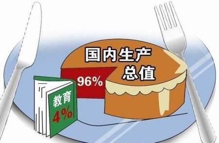 中国国家财政性教育经费占GDP比例连续6年超4%