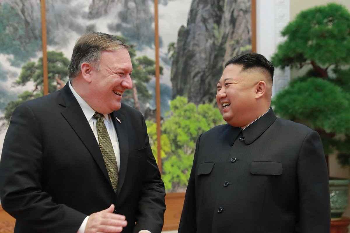金正恩曾在亲笔信中指责蓬佩奥:他妨碍无核化协商