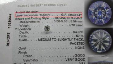 如何鉴别GIA钻石证书真伪?注意看这几点