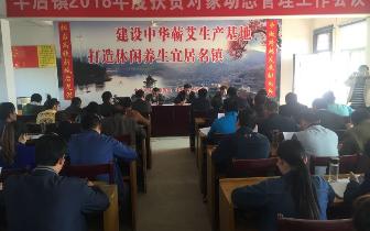 丰店镇召开2018年度扶贫对象动态管理工作会