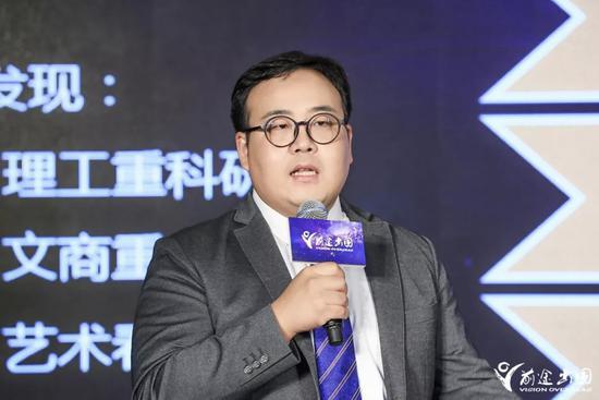 新东方前途出国美国研究生部业务总监 田旺