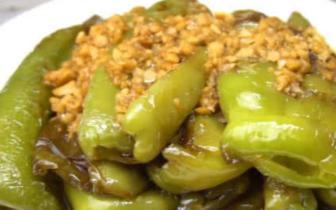 虎皮青椒只需两分钟就可做出 香辣美味超下饭