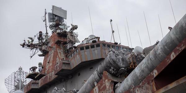 """辽宁舰""""老家""""乌克兰船厂如此残破不堪"""