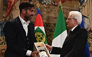 總統接見意大利國家隊