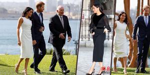 梅根王妃被曝怀龙凤胎 但仍不惧紧身衣和高跟鞋
