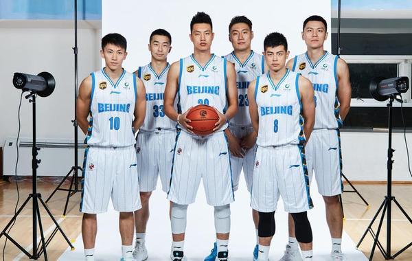 2018-2019赛季CBA联赛:北京男篮官方写真