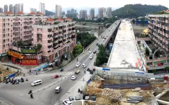 洪山桥新桥计划下月半幅通车 交通导改方案出炉
