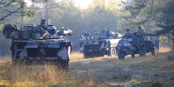 法德军队开展联合军事演习