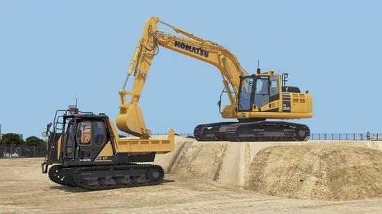 解决劳工不足 日本小松研发无人驾驶挖掘机及自卸车
