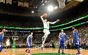 NBA揭幕战 绿军18分大胜76人