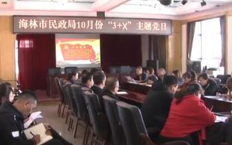 """海林市民政局开展""""3+X""""主题党"""
