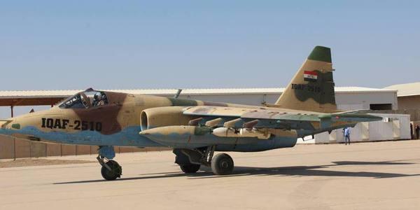 伊拉克苏25进行高爆炸弹空投试验