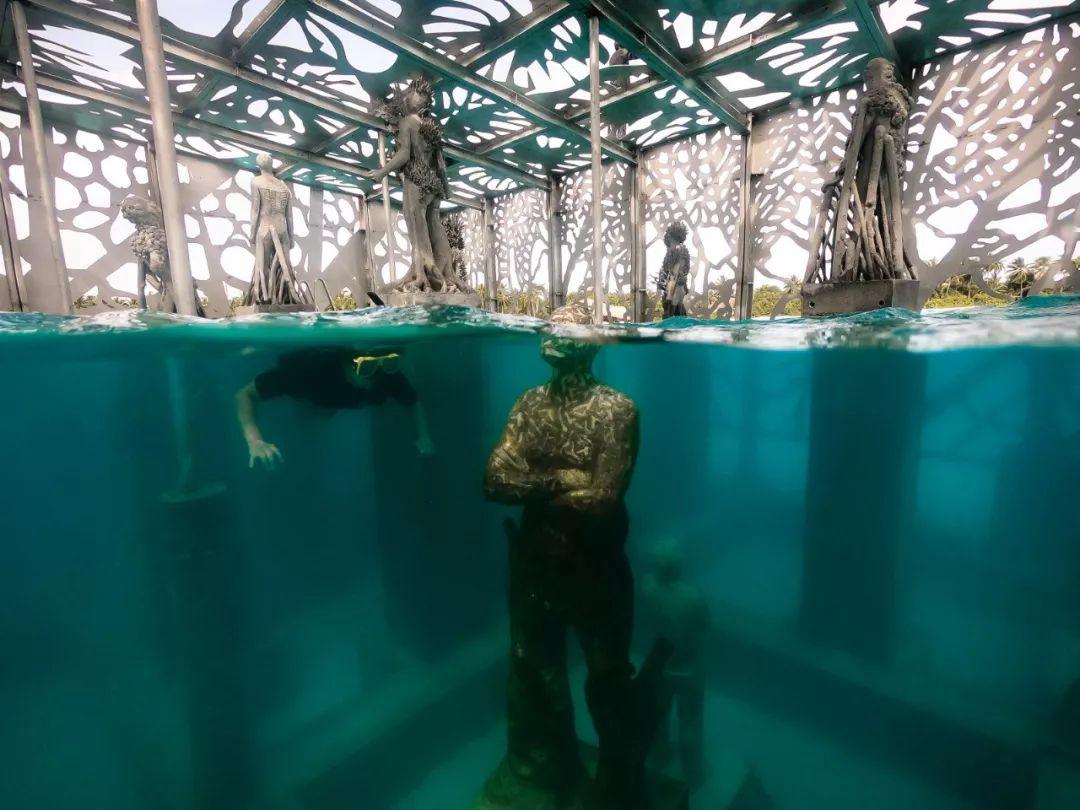 马代水下博物馆被拆