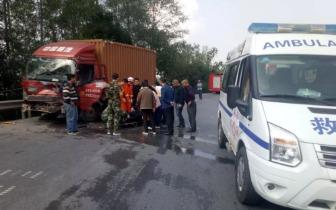 即时消息:巴中市巴州区水宁寺某地发生一起交通事故