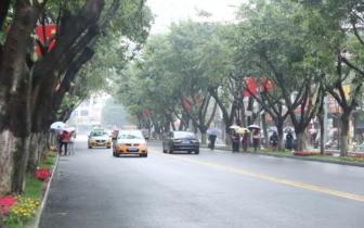 南充这些路段车辆通行方式、停车位等有大变化