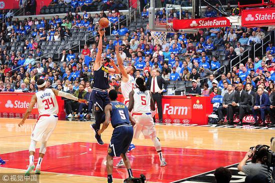 金塊擊沉快艇取得首勝 Jokic21+8+5,Gary Harris 20分,替補Marjanovic 18+8(影)-黑特籃球-NBA新聞影音圖片分享社區