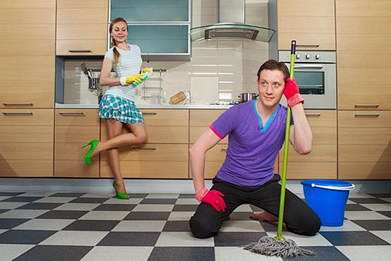 别叫了,男人真做不了家务!