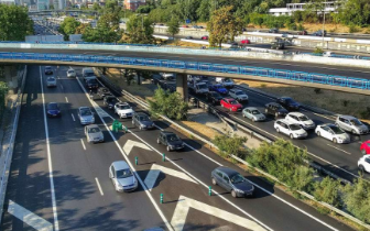 有效缓解梅东大桥出现交通拥堵