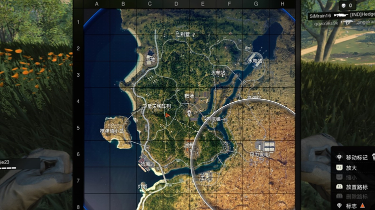 black out的地图规模较小,不知道后续有没有新图