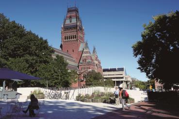 哈佛大学安能堡厅外观  周成刚 摄
