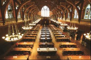 """哈佛大学""""魔法餐厅"""" 周成刚 摄"""