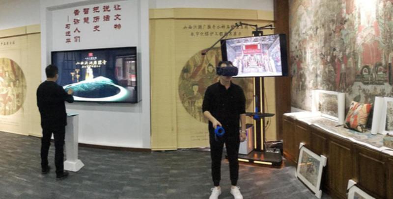"VR、AR、LM齐上阵广胜寺的文物""活""起来了"