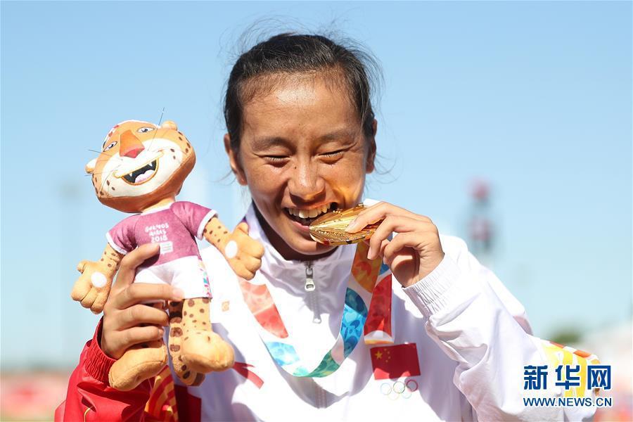 青奥会田径中国获得3金1银1铜 位列奖牌榜第一