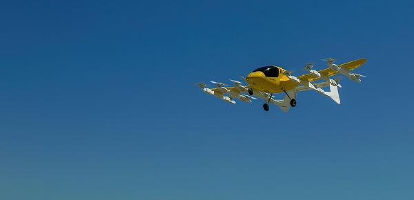 飞行无人驾驶出租车 了解一下?