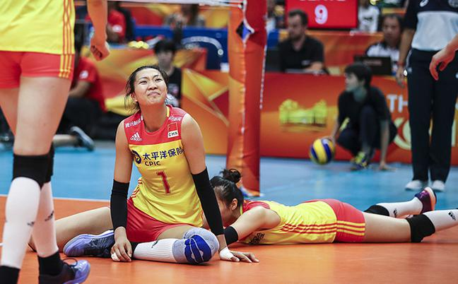 中国女排2-3意大利 无缘世锦赛决赛