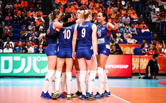 女排世锦赛塞尔维亚3-1荷兰进决赛