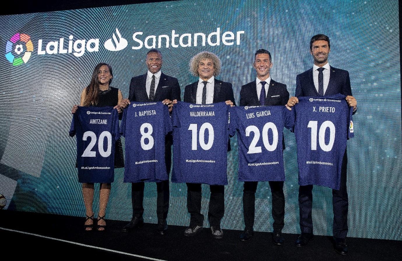 6名球星入选新一轮西甲大使阵容 埃托奥普列托在列