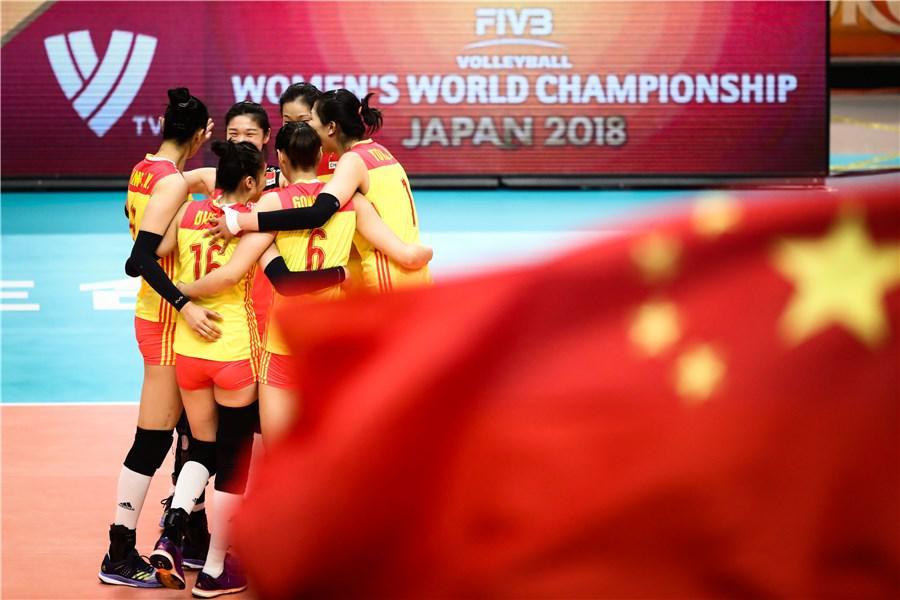 憾负!中国女排追5赛点2