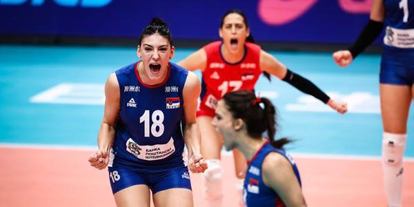 女排世锦赛塞尔维亚3-1荷兰 率先晋级决赛