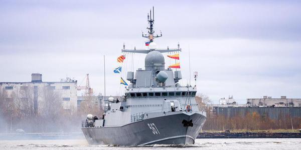 俄新导弹艇首舰现身俄核潜艇重镇