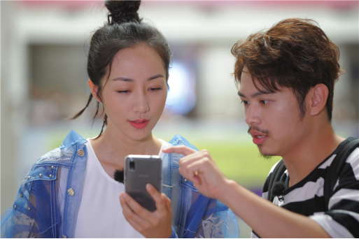 湖南卫视《快乐哆唻咪》韩雪亮相创意短视频惊艳