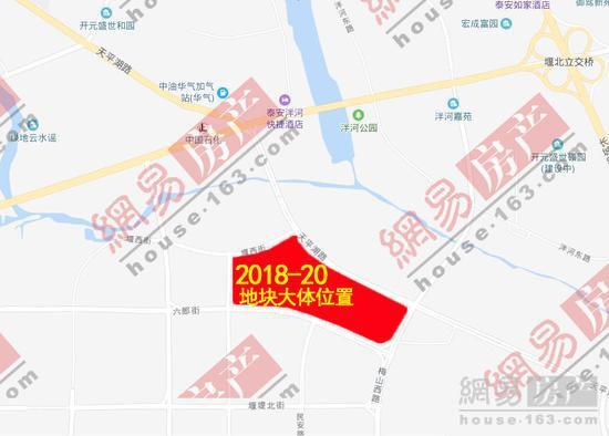 泰安2018-20号地块被泰山城市发展